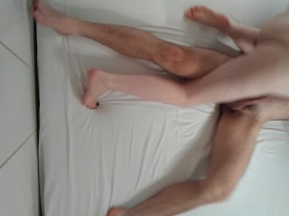 PEGGING BF with a BIGGER DILDO (BIG STRAPON DILDO, PEGGING, RIMJOB) part 1.