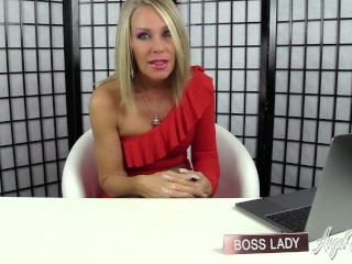 Nikki Ashton - Worship Bossy Feet to keep your JOB