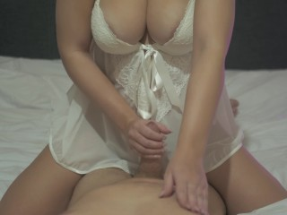 My Hot StepS***** Fucks Me With Her Tight Wet Pussy!
