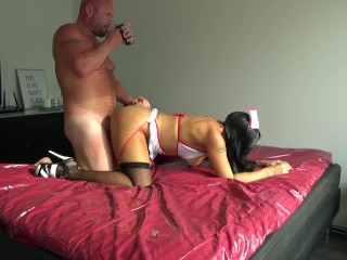 Making a POV nurse video with my horny wife Vol 3 -Jan Hammer
