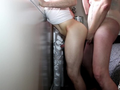 Tiny Dick'd Twink Gets It Raw Up the Ass From Shemale Transsexual