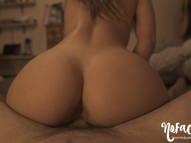 Curvy Blonde Riding Pov