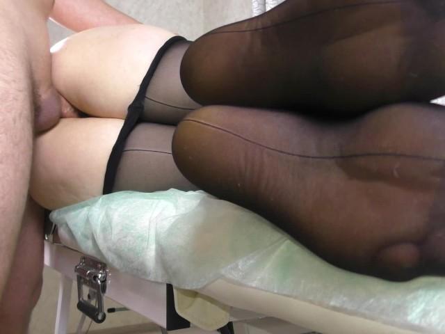 stockings feet amateur fuck