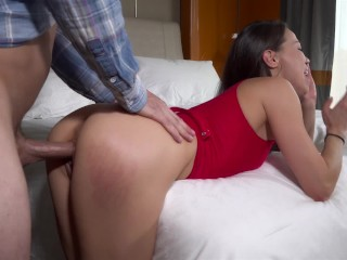 Asian whore dicked down along with creampied; Shhh, she's got a husband!, YouPeg