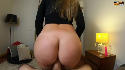 reverse cowgirl pov pawg