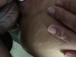 FILL MY CREAMY TIGHT FILIPINA PUSSY WITH CUM AND LET IT DRIP DOWN MY ASS