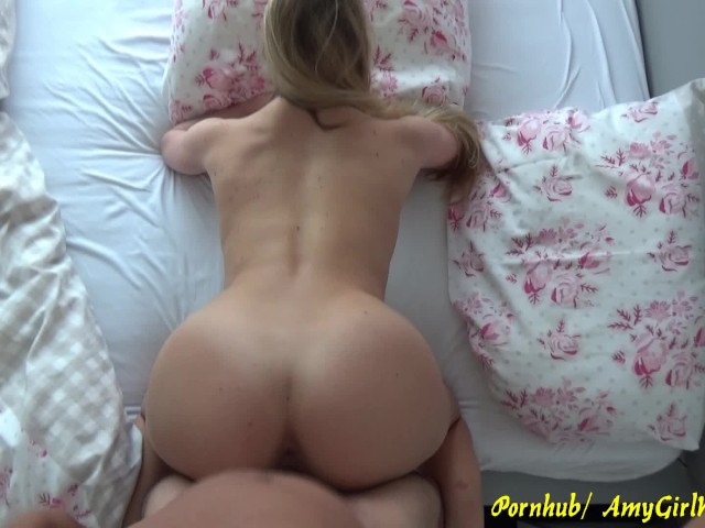 Blonde College Amateur Blowjob