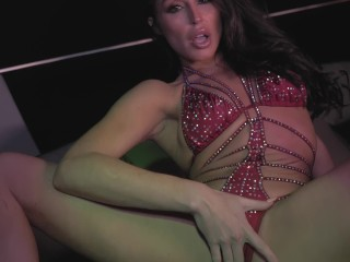 Christiana Cinn's Fiery Nude Limo Ride Alone-Sex tape Music Video keepyahjoy