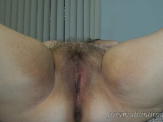 Awesome/her hairy pussy fucked and