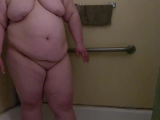 What real shower sex is like - with a fat married couple