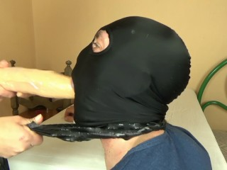Femdom Blonde fucks guy with a strapon Pegging toys Full HD 1080p