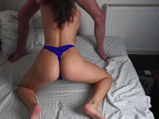 Tinder amateur girl big boobs perfect ass blowjob and fucked hard