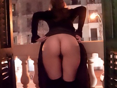 Naughty Night in Barcelona Public Flashing, BJ and POV Sex