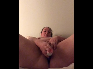 Slut mom forgets to close the door and squirts for my friends SO HOT!!!!