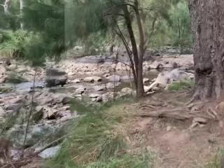 Nude Beach & Hiking Swim, Handjob and Fucking Part 1
