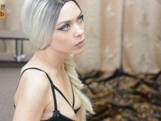 Luxury Escort Girl do Extra Sloppy Blowjob With Cum in Mouth - MonaCharm