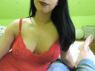 BUSTY STEP MOM HELPS SON TO RELAX AFTER SCHOOL (Captain Marvel)