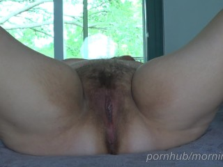 Wife orgasms riding me like a rented mule, I fill her wet pussy with cum.