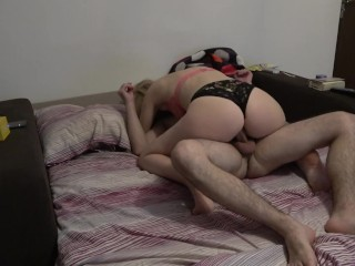 Stretched Asshole When I Fuck Her And She Refuses To Eat My Cum