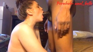 Cums in my ass (6:52) and I keep pounding on his dick