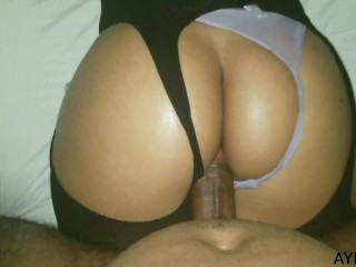 I fucked my stepcousin after my mother go to his work
