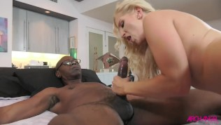 ASHLEY FIRES FIRST EVER INTERRACIAL ANAL FULL SCENE