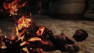 skyrim Female monster Flame Atronach porn