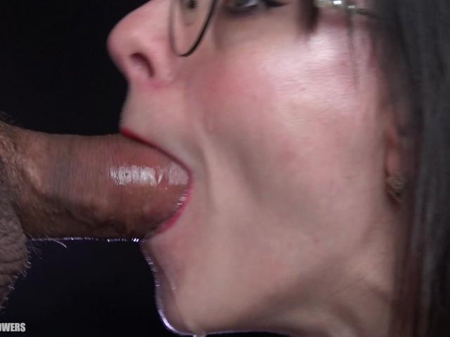 Ebony Deepthroat Oral Creampie