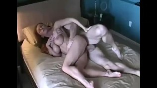 Lucky Nephew Enjoys Sexy StepAunts Tight Mouth and Pussy