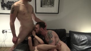 Bisexual Threesome with Rae Lil Black and Cliff Jensen