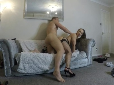 Step Brother Catches Step Sis Masturbating - Fucks Her Hard!