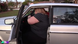 ssbbw ivy bounce car