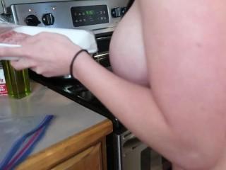 Milf Pornstar Baking Show!