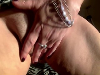 Sexy milf's Secret video for her StepSon, Taboo, squirt,