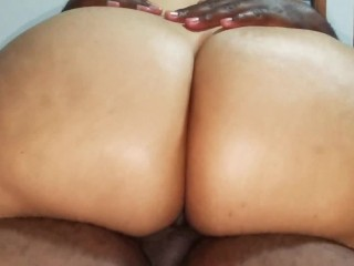 Young Puerto Rican hottie never had ebony whore wood in her anal before