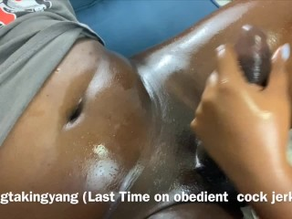 Cosplay/cock part massage worship