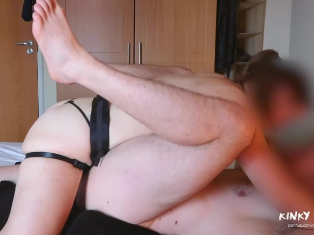 Intense Pegging by Amateur Girl - Intimate Strapon Fucking