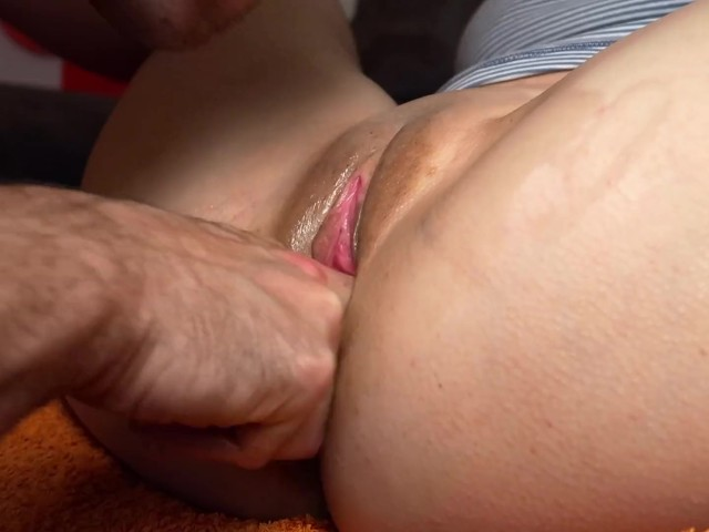 Wet Tight Pussy Fuck Close Up