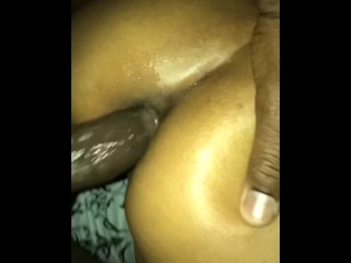 Bubble Butt Girlfriend offered anal and I fucked her ass good and cum shot