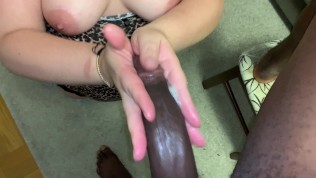 Monster cock: his step brothers cock is bigger I worked him and let him drill me