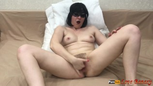 Fingering Masturbation with Intense Squirting Orgasm