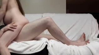 Pregnant Wife Needs Your Fist if You Want Her to Ride!