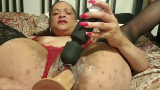 Pussy play and dirty talk with Goddess Cynthia Love Pt. 2