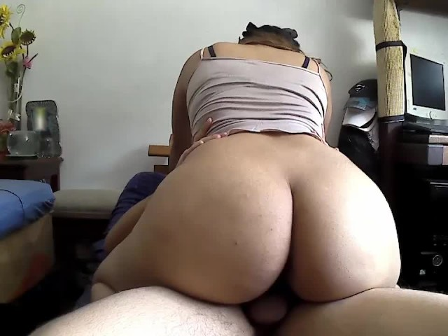 Big Tit Wife Rides Creampie