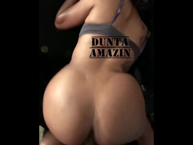 Big Black Booty Twerking Naked