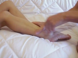Make her crazy by amazing foot massage