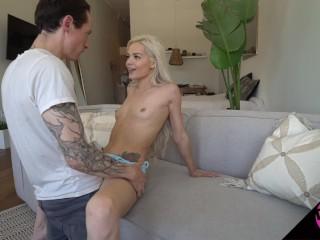 Petite Elsa Jean Intense and Intimate Amateur Sex Tape