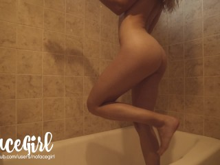 Passionate Sex In The Shower With Amateur Babe NoFaceGirl