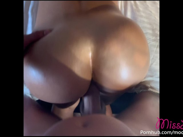 He Rubs Her Clit While Fucking