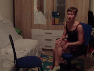 Special gyno exam of young russian woman by a pervert doctor